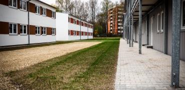 Neubau einer Asylunterkunft in Moosburg