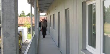 Gemeinschaftsunterkunft für Asylbewerber